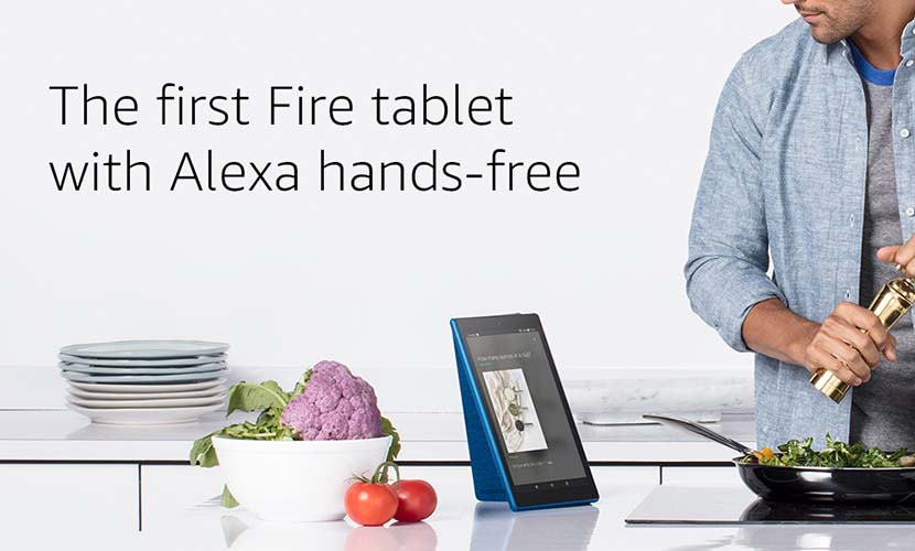 Fire HD 10 hands free alexa