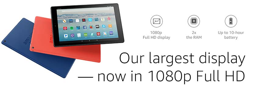 Performance All-New Fire HD 10 Tablet