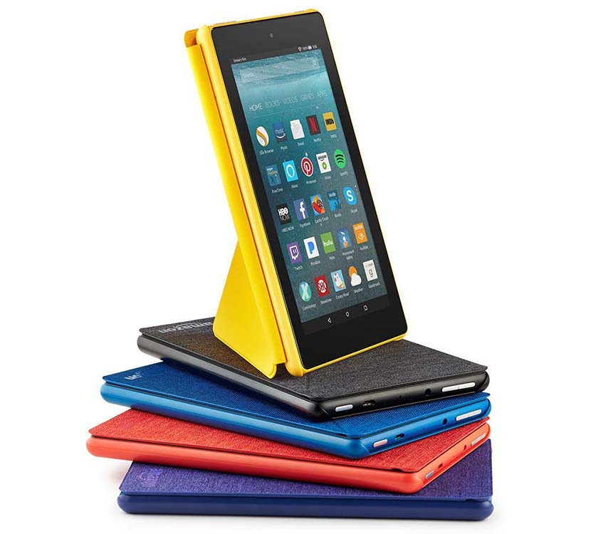 different colors Fire 7 Tablet