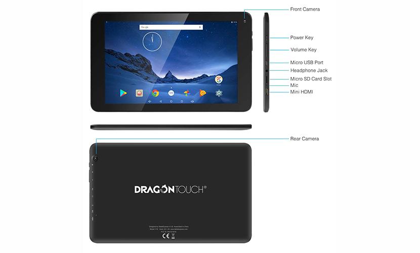Design Dragon Touch V10 10.1 inch Tablet
