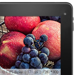 Display Dragon Touch V10 10.1 inch Tablet