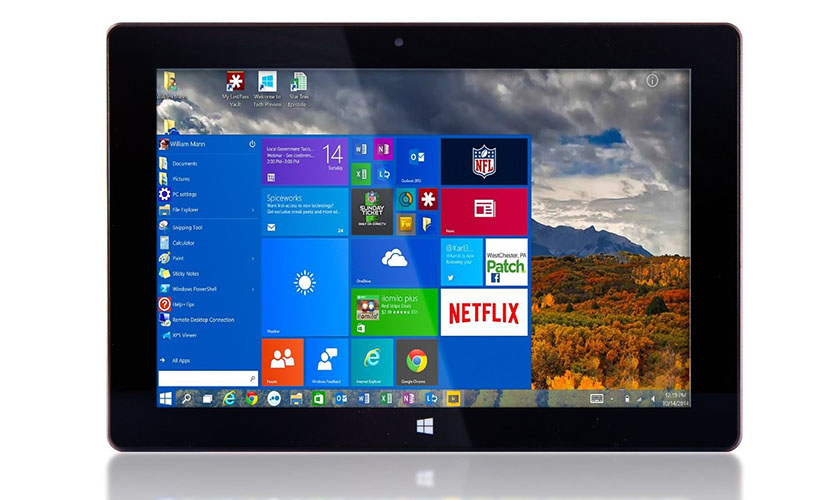 Fusion5 10-inch Windows 10 Tablet
