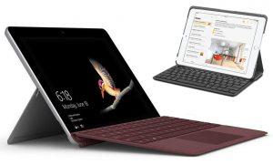 Microsoft Surface Go vs iPad