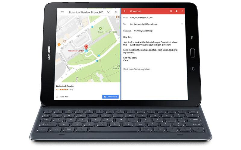 Pairing Samsung Galaxy Tab S3