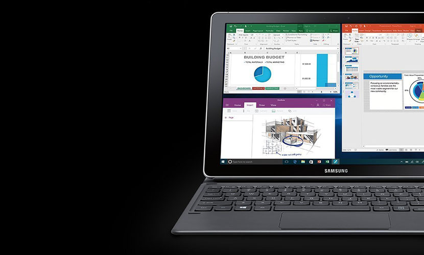 Samsung Galaxy Book SM-W723NZKAXAR 2-in-1 Tablet Review - My