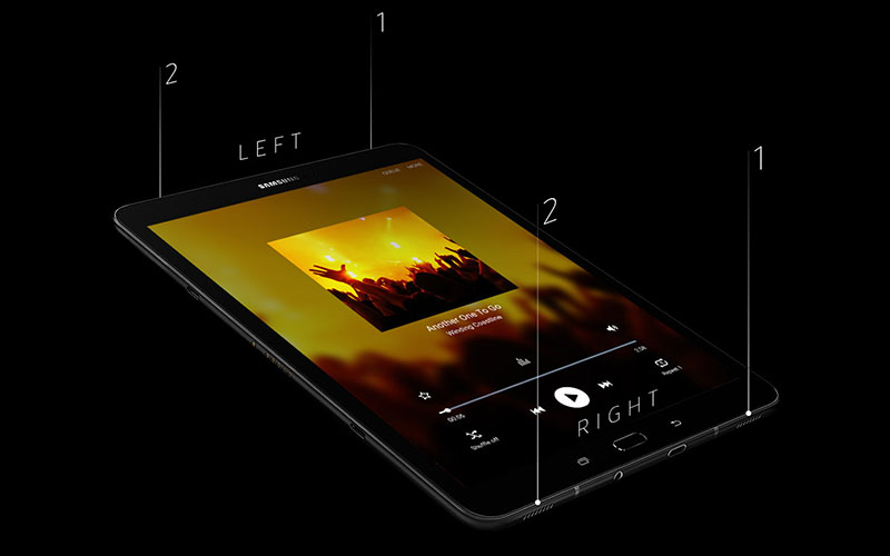 Speakers Samsung Galaxy Tab S3