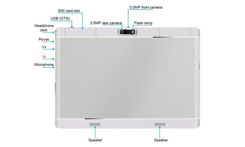 Design Kivors 9.6-inch 3G Touch Tablet