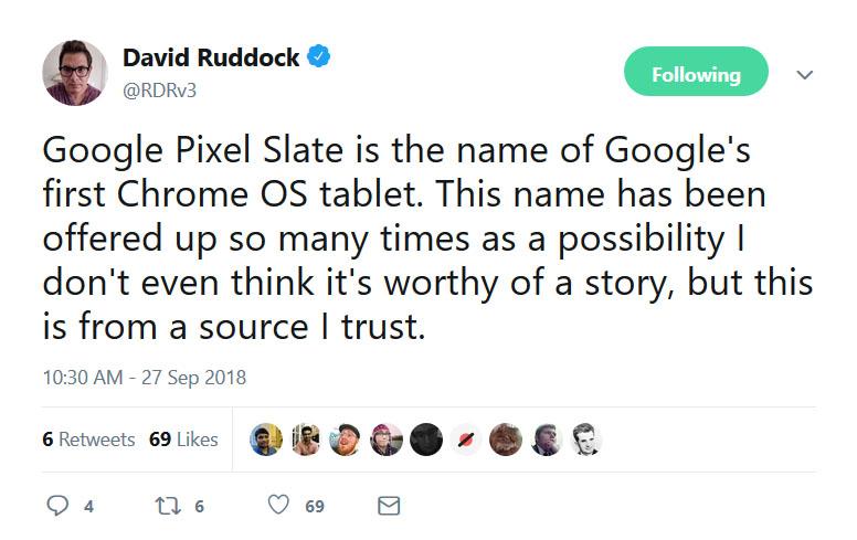 David Ruddock's Tweet
