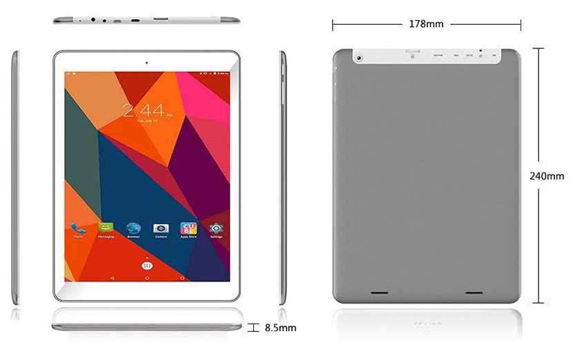 Design AWOW A98 Plus II 10-inch Tablet