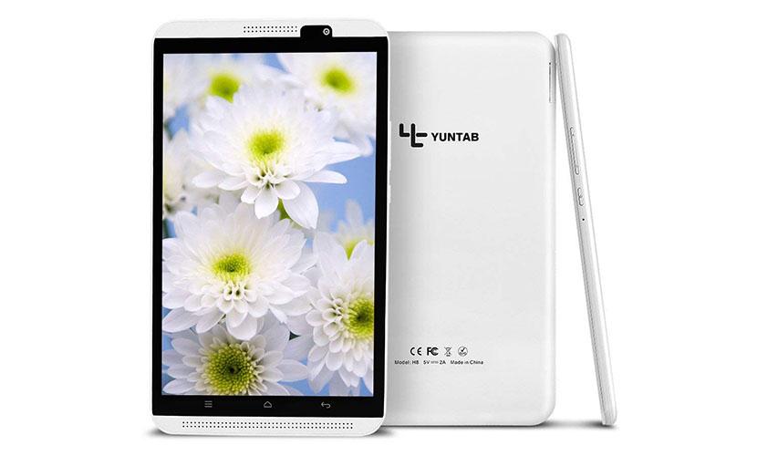Design Yuntab H8 8-inch Tablet
