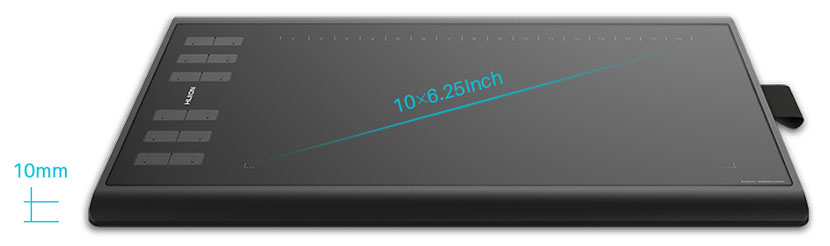 Design and Display of Huion H1060P