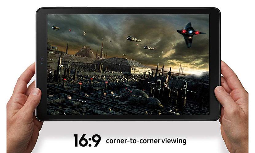 "Display of Samsung Galaxy Tab A 10.5"""