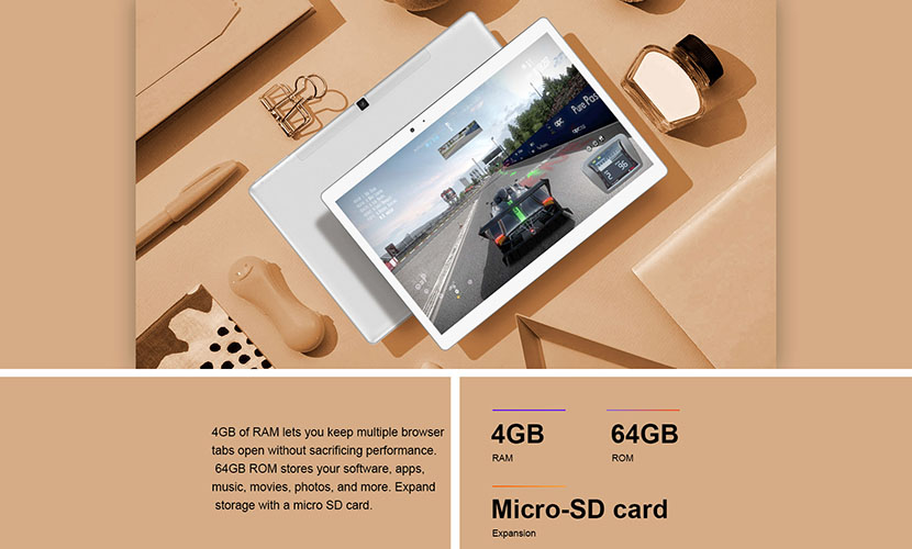 Fast Memory and Storage of Teclast T20