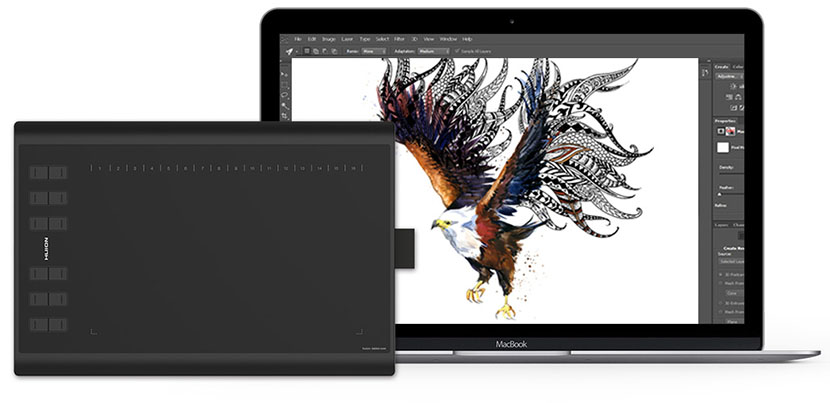 Huion H1060P Drawing Tablet