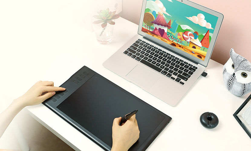 Huion INSPIROY Q11K V2 Drawing Tablet - Explore your