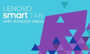 Lenovo Smart Tab With Amazon Alexa