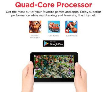 Processor Ematic EGQ373BL