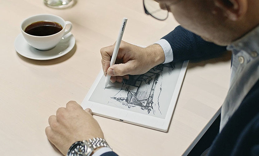 Screen reMarkable paper tablet