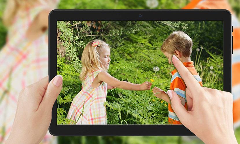 Camera of Hoozo 10-inch 3G Tablet