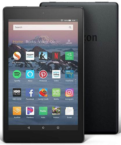 Design and Display of New Fire HD 8