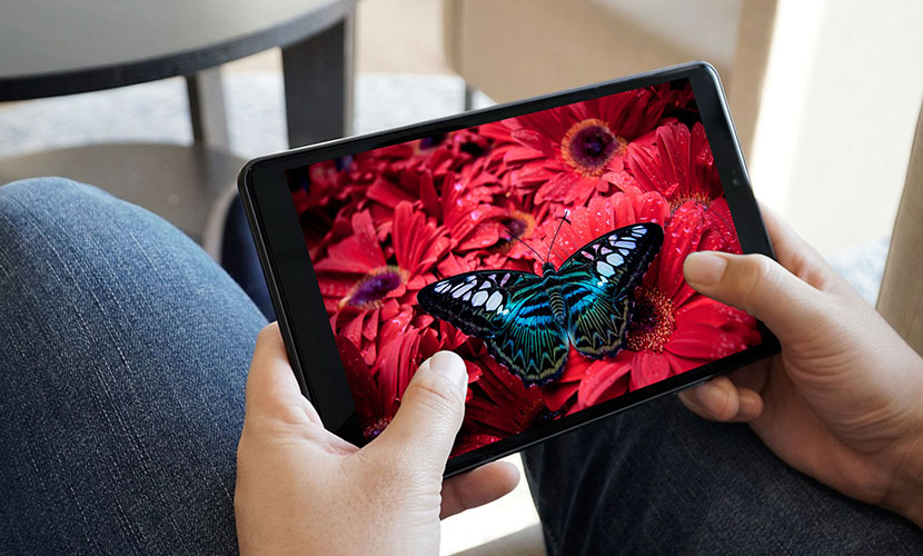 Display of CHUWI Hi9 Gaming Tablet