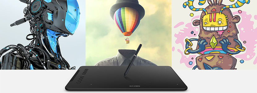 Do more with XP-Pen Deco 01 drawing tablet