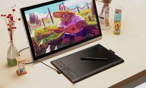 GAOMON M10K Drawing Pen Tablet 2018