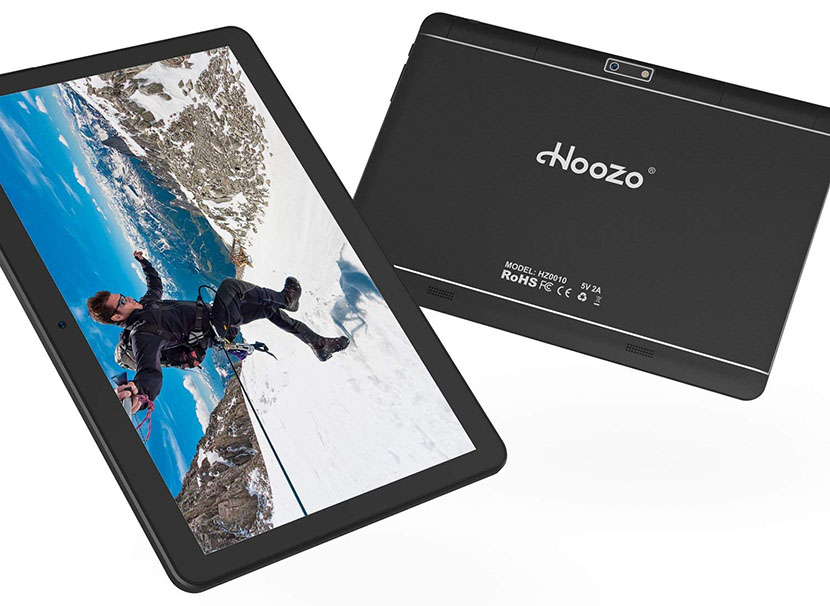 Hoozo 10-inch 3G Tablet - Design and Display