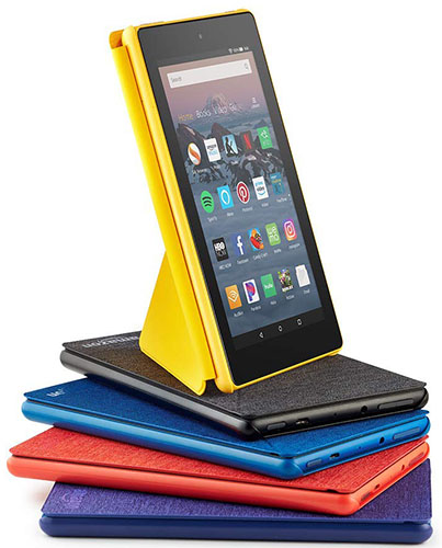 New Fire HD 8 Accessories and Colors