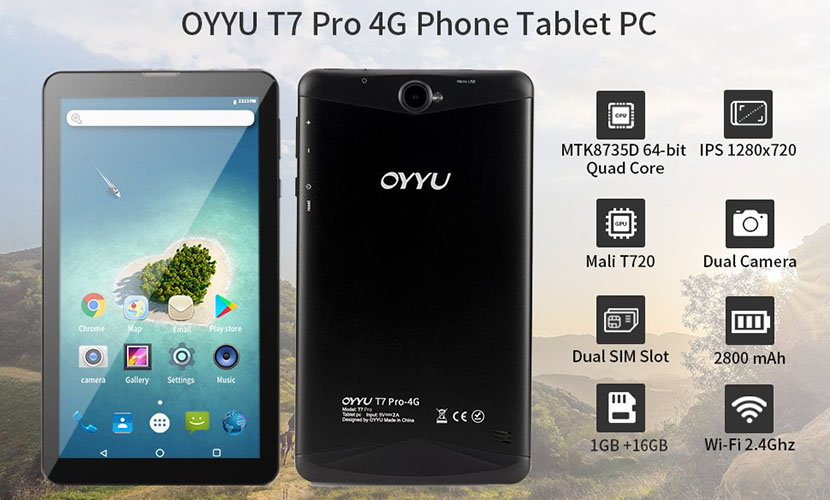 OYYU T7 Pro Specs and Features