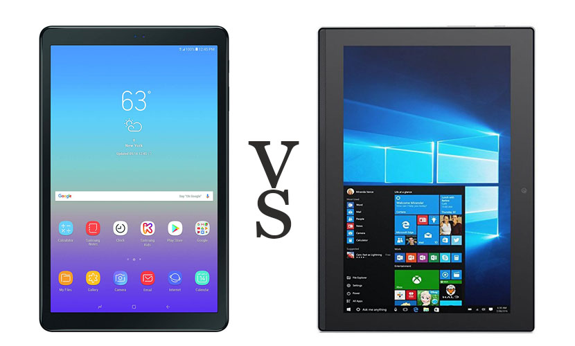 android vs windows tablets