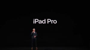 iPad Pro 2018 announced