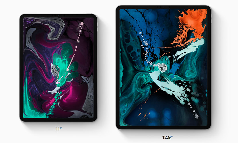 iPad Pro 2018 comes in 11 and 12.9 inch