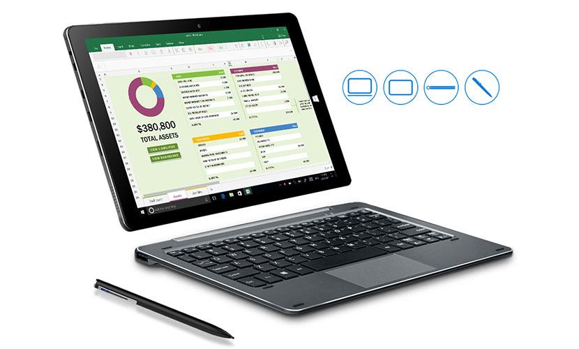 CHUWI Hi10 Air with keyboard and stylus