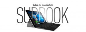 CHUWI surbook 2-in-1 convertible tablet