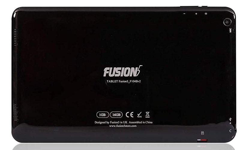 back design of Fusion5 104Bv2