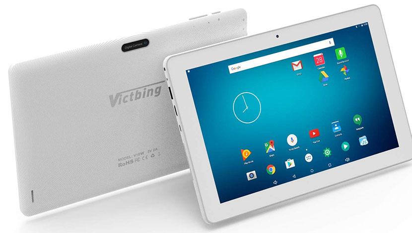 design and display of Victbing V10W tablet