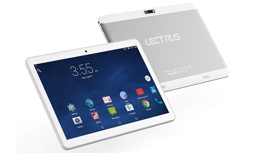 design of Lectrus LECT-TAB1011S 3G tablet