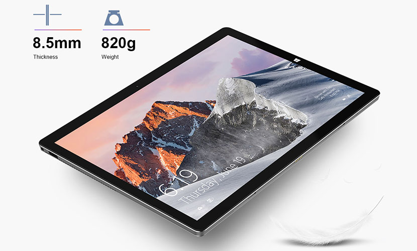 display and design of Teclast X6 Pro