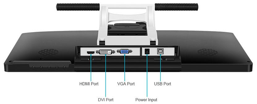 Connectivity options in Huion KAMVAS GT-191 V2
