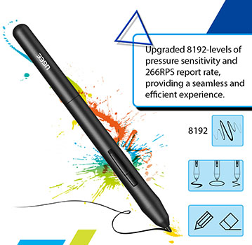 UGEE M708 Cheap Drawing Tablet Review - My Tablet Guide