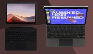 2-in-1 tablets with keyboard
