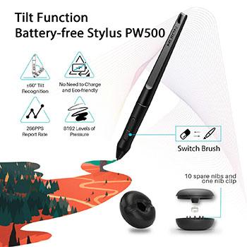 Battery Free Pen With Huion KAMVAS Pro 20 GT-192