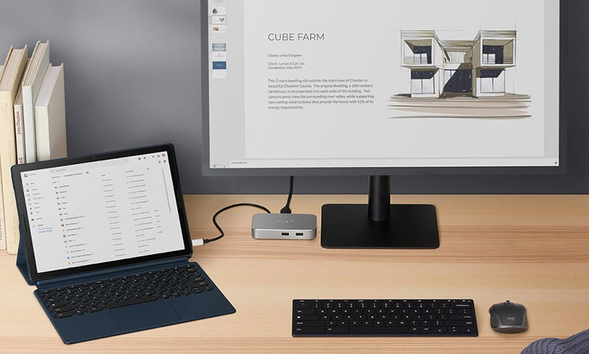 Connect Pixel Slate for desktop experience