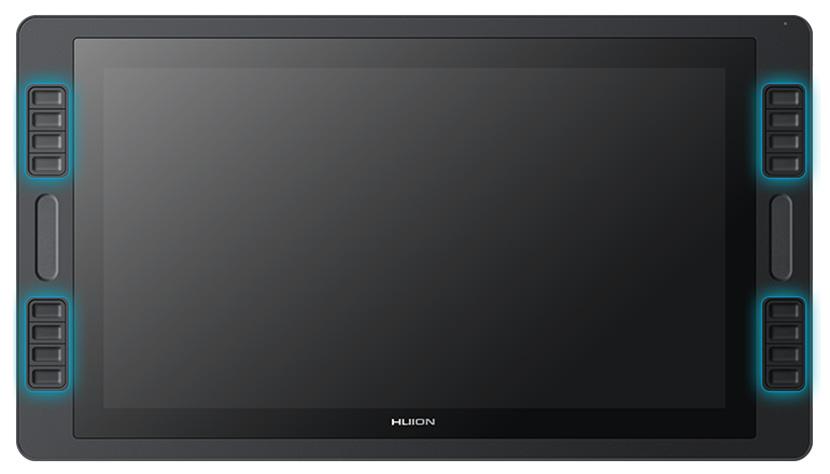 Huion KAMVAS Pro 20 GT-192 Has 16 Express Keys