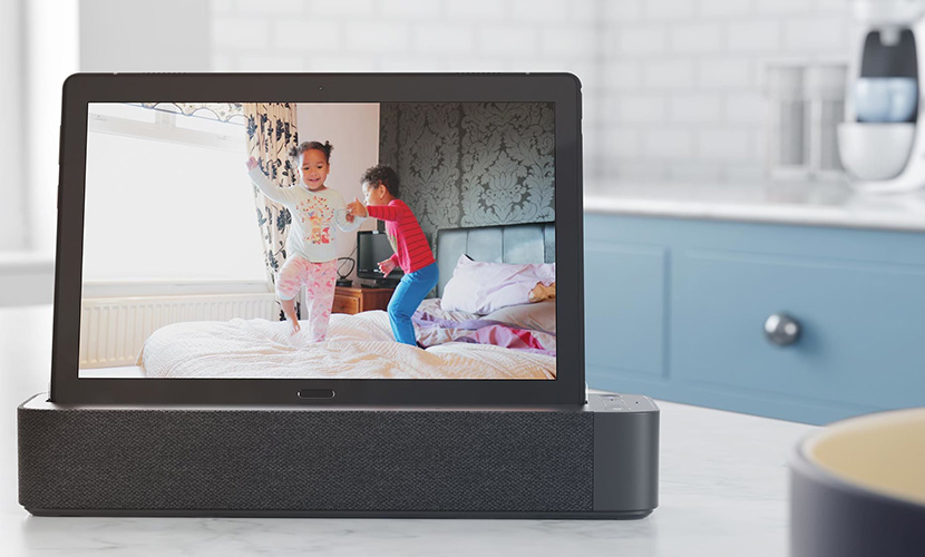 Smart Tab is compatible with smart home devices