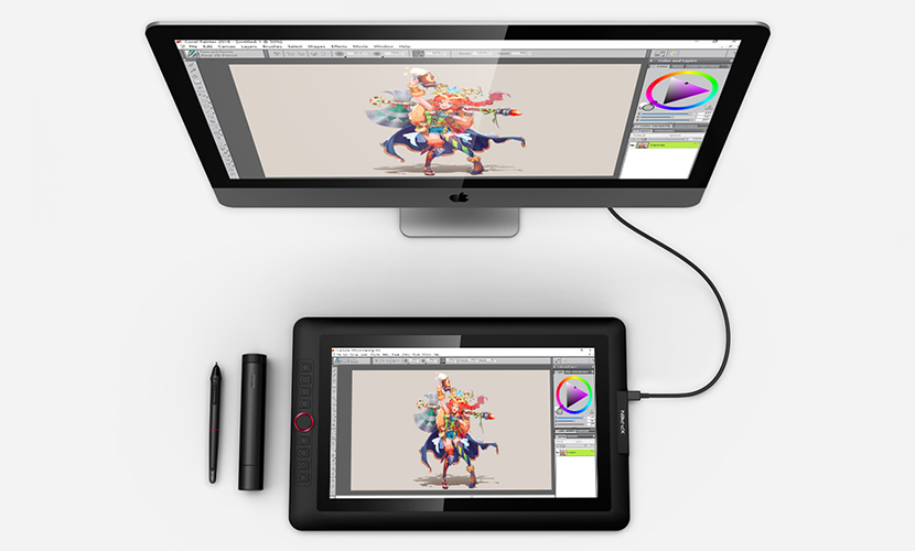 XP-PEN Releases a New Artist15 6 Pro Drawing Tablet - My