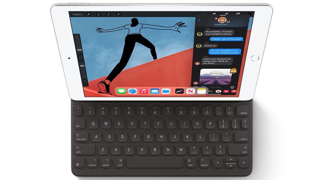 apple ipad 10.2 with smart keyboard