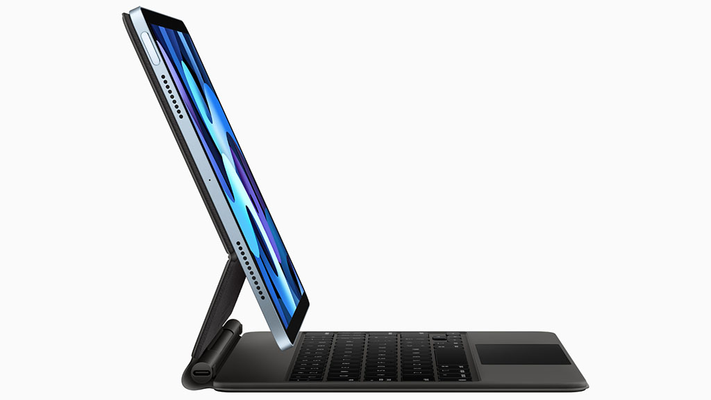apple ipad air with magic keyboard