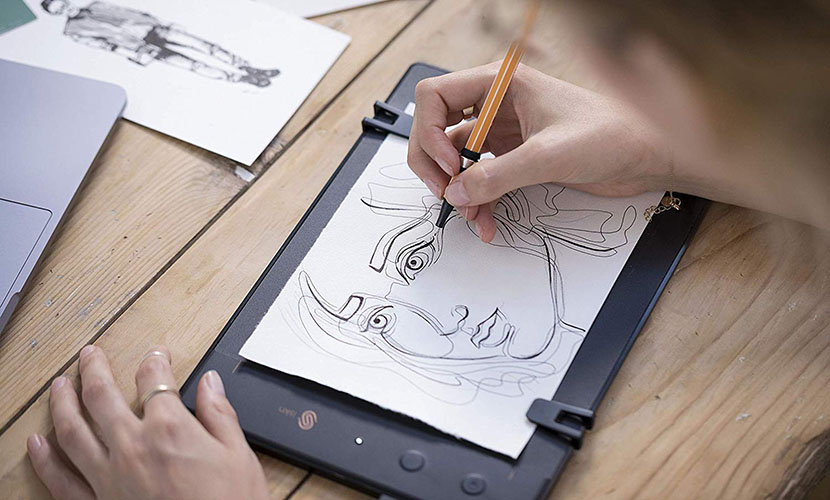 iSKN The Slate Pencil & Paper Graphic Tablet